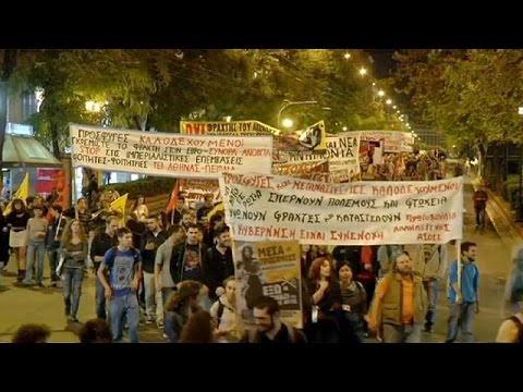 Αθήνα: Πορεία αλληλεγγύης σε πρόσφυγες και μετανάστες