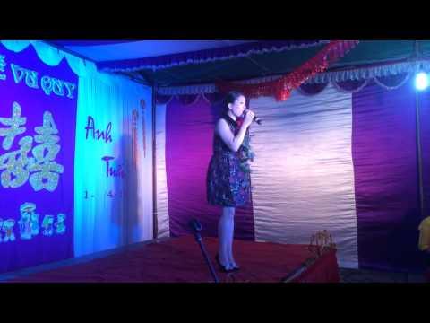 Khúc hát sông quê - Ca sĩ Anh thơ hát trong đám cưới