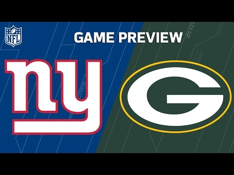 Giants vs. Packers | Eli Manning vs. Aaron Rodgers | NFL Wild Card Weekend Previews (видео)