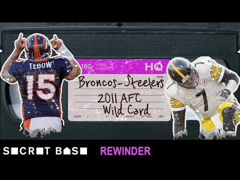Video: Tim Tebow's playoff overtime miracle deserves a deep rewind | 2011 AFC Wild Card Broncos vs Steelers