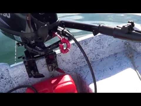 Vibra-Stop cures outboard motor vibration