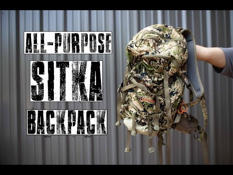 All-Purpose Sitka Backpack Review | Hunting Gear Reviews
