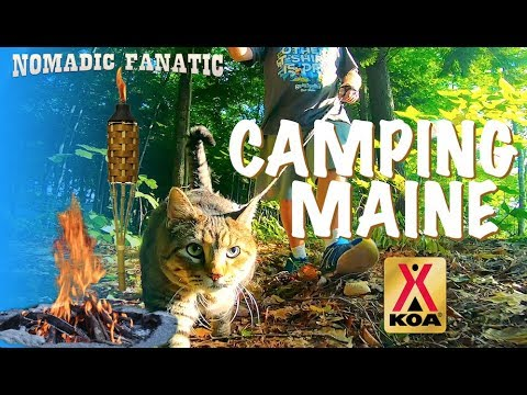 A Great Summer Campground in Maine