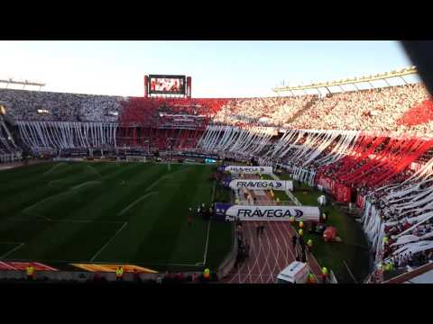 Video - Recibimiento River Plate vs Boca Jrs torneo 2015 - Los Borrachos del Tablón - River Plate - Argentina