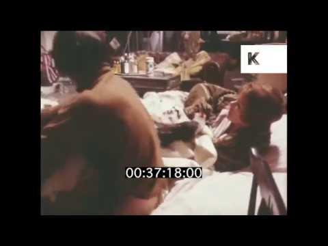1970, Glenda Jackson & Murray Head on Set of Sunday Bloody Sunday