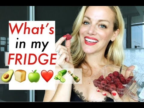 WHAT'S IN MY FRIDGE  TRACY CAMPOLI  NUTRITION HEALTH FOOD