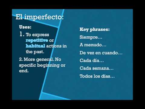 Browse classes teachem preterito vs imperfecto fandeluxe Image collections