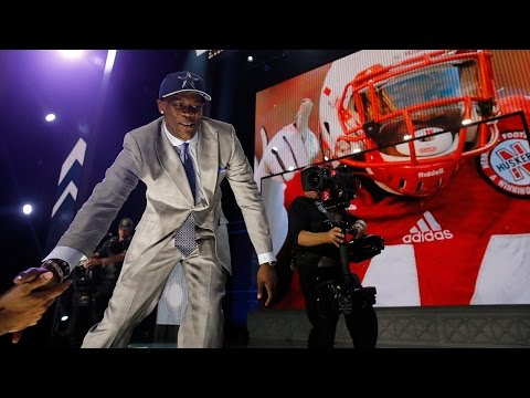 Randy Gregory on being drafted by Cowboys: 'We're going to take over this league'