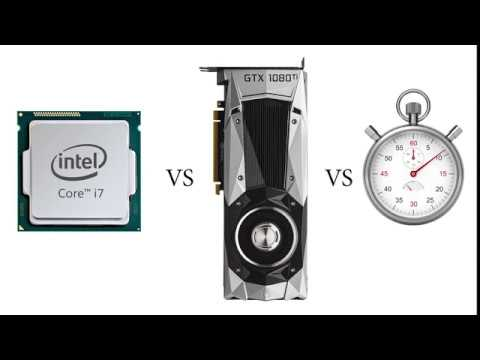 CPU Vs Graphics Card/GPU (Nvidia NVENC): X264 Video Encoding Benchmark