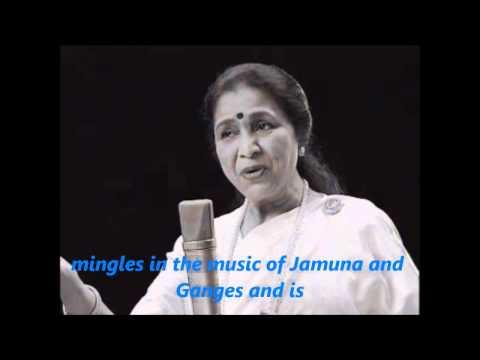 Indian national Anthem with English Lyrics