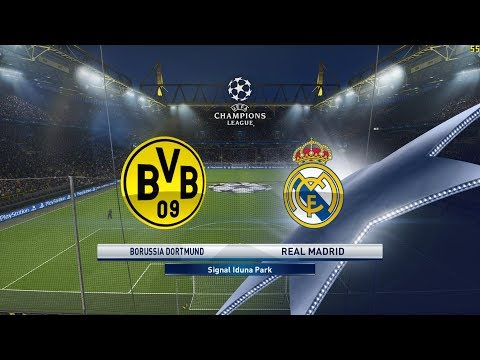 PES 2018 | Borussia Dortmund Vs Real Madrid ● UCL - 26/9/2017 | PC Version - 1080HD/ 60fps |