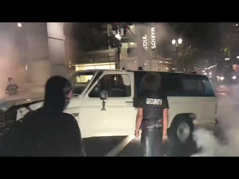 Man Beaten at BLM Protest in Portland