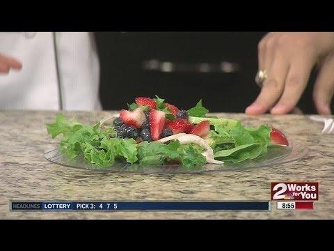 Sunday Brunch:  Chef Remmi's Cucumber Blueberry Salad Part II