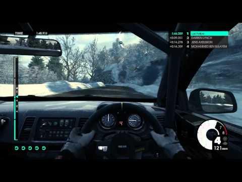 Rally em Monte Carlo DIRT 3