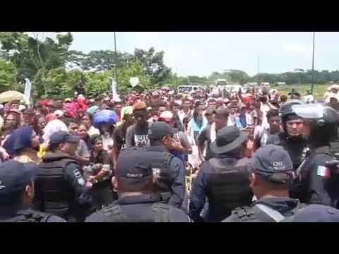 Το Μεξικό θωρακίζει τα σύνορα