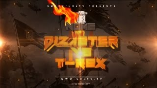| URL/SMACK Announces Dizaster vs. T-Rex Drop Date