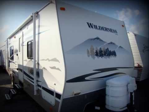 Used 2008 Fleetwood Wilderness 260BHS travel trailer RV for sale in Pennsylvania