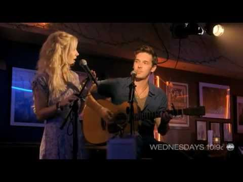 Nashville - Clare Bowen and Sam Palladio singing If I Didn't Know Better of ABC's Nashville.