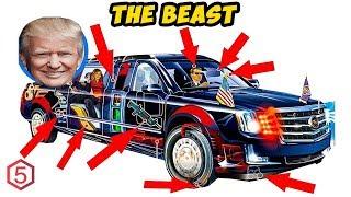 Video Anti Nuklir! The Beast Mobil Kenegaraan Super Canggih Presiden Trump MP3, 3GP, MP4, WEBM, AVI, FLV Juni 2019
