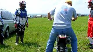 6. Mario's first ride on his 2008 Honda CRF150R @ Pittsburgh Raceway Park