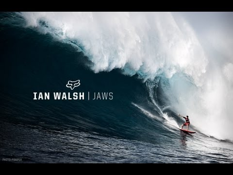 Fox Surf Ian Walsh First Jaws Swell of the Season - CCTV Video placeholder