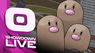 Dugtrio Suspect Laddering #1 - Pokemon Sun and Moon! Showdown Live! by PokeaimMD