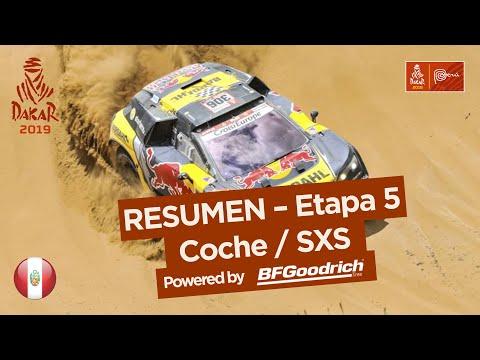 Dakar - Etapa 5 - resumen autos