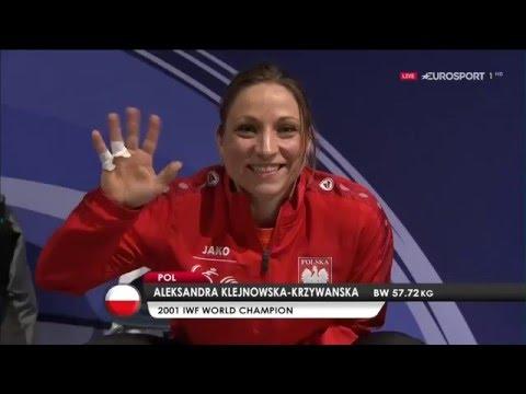 Чемпионат Европы 2016. Женщины в.к. до 58 кг.