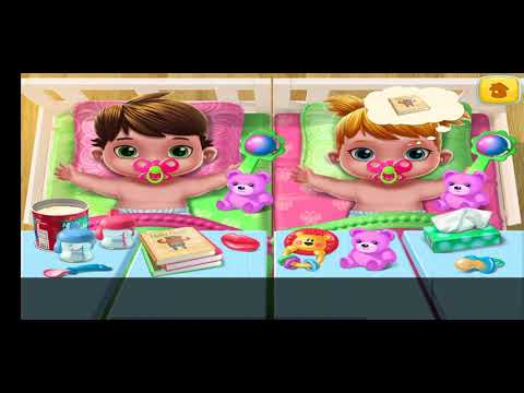 #kidsgame Fun Care Kids Game - Baby Twins - Play Dress Up, Newborn Care Games For Kids