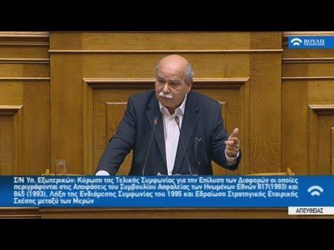 Δημήτρης Βούτσης: «Είναι μια ιστορική συμφωνία για τα Βαλκάνια»