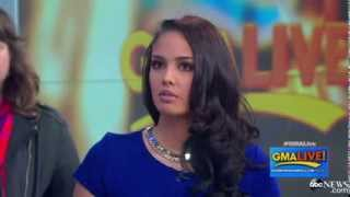 Miss World Megan Young In Good Morning America [HQ]