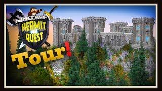 Hermit Quest Final:  Minecraft Enchanting Castle Tour!