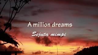 Video Lirik dan Terjemahan -A MILLION DREAMS- from the Greatest Showman MP3, 3GP, MP4, WEBM, AVI, FLV Maret 2018