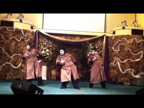 GAG Mime-My Soul Doth Magnify The Lord Mime Dance