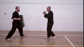 Green Belt Front Kick