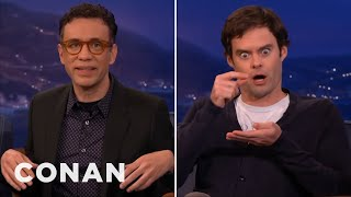 Video Fred Armisen Fires Back At Bill Hader's Impression  - CONAN on TBS MP3, 3GP, MP4, WEBM, AVI, FLV September 2018