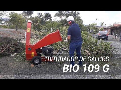 Triturador de galhos urbano Lippel Bio 109 G