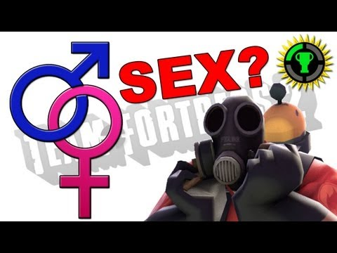 Game Theory: The TF2 Pyro...Male or Female? (видео)