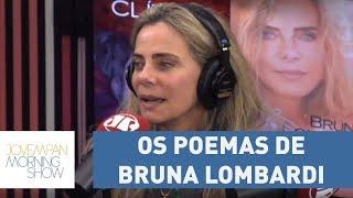 """Bruna Lombardi: """"O compartilhamento dos meus poemas na internet me surpreendeu"""" Inscreva-se no canal de entretenimento..."""