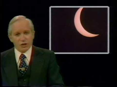 ABC News correspondents brief message regarding the 2017 solar eclipse-- recorded in 1979