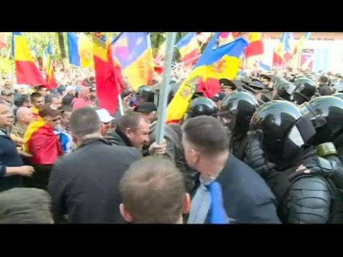 Μολδαβία: Μεγάλες αντικυβερνητικές διαδηλώσεις