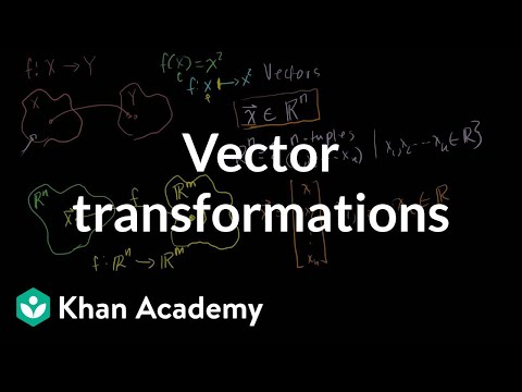 Vector Transformations