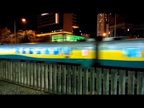 Trem de passageiros da Vale chegando em Belo Horizonte