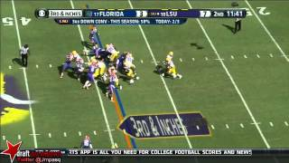 Jeremy Hill vs Florida (2013)