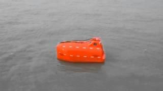 Jiangyin China  city photo : Testing the Mariner's Lifeboat in Jiangyin China.