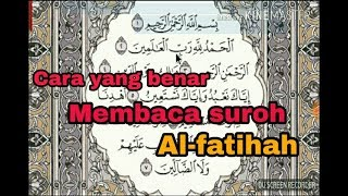 Video Cara benar membaca Al-fatihah (Tahsin Al-fatihah) MP3, 3GP, MP4, WEBM, AVI, FLV Maret 2019