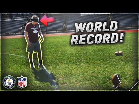 BREAKING NFL WORLD RECORDS! (видео)