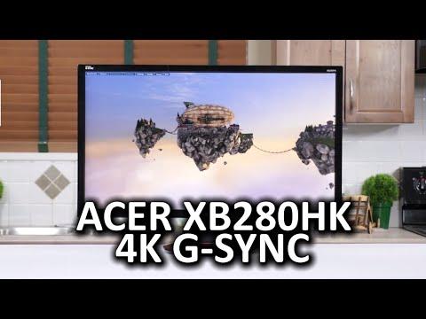 Acer XB280HK 4K G-Sync Monitor