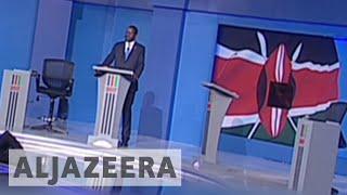 Kenya: President Kenyatta skips presidential debate What was billed as Kenya's presidential debate became a one-man show on...