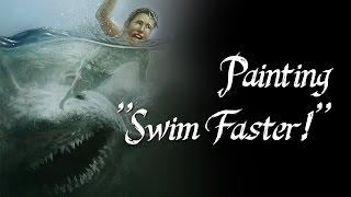 """Speedpainting - """"Swim Faster!"""""""